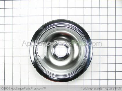 GE 6 Inch Small Drip Pan WB31M1 from AppliancePartsPros.com