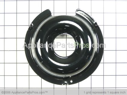 "GE 6"" Porcelain Pan WB32X5059 from AppliancePartsPros.com"