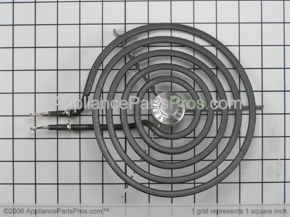 GE 8 Inch Large Surface Element WB30T10074 from AppliancePartsPros.com