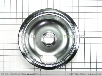 GE 8 Inch Large Drip Pan WB32X106 from AppliancePartsPros.com
