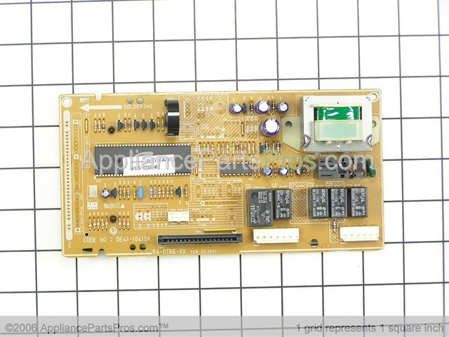 ge wb27x10376 assembly  power control module