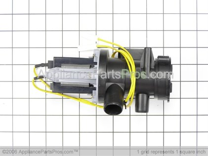 GE Assembly-Pump Drain WH23X10011 from AppliancePartsPros.com