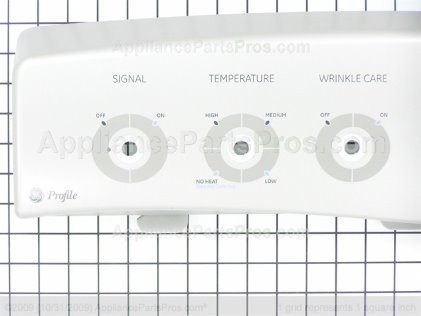 GE Backsplash Asm WE19M1505 from AppliancePartsPros.com