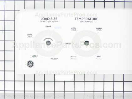 GE Backsplash Asm WH42X10698 from AppliancePartsPros.com