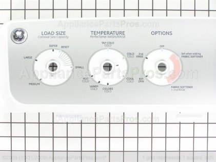 GE Backsplash Asm WH42X10745 from AppliancePartsPros.com