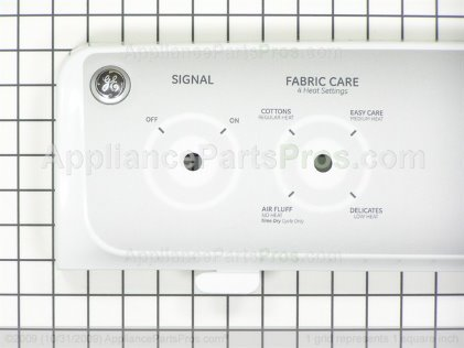 GE Backsplash Asm. White WE19M1680 from AppliancePartsPros.com