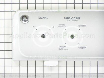 GE Backsplash Asm. White WE19M1680 from AppliancePartsPros.com