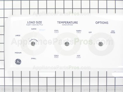GE Backsplash Asm-White WH42X10652 from AppliancePartsPros.com