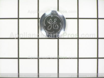 GE Badge GE-Gray WE19M1624 from AppliancePartsPros.com