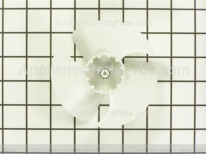 GE Evaporator Fan Motor Blade WR60X10208 from AppliancePartsPros.com