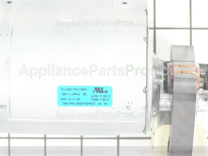 GE Blower Tangential 60M WB26T10042 from AppliancePartsPros.com