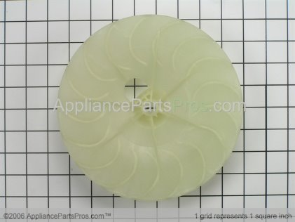 GE Blower Wheel WE16M15 from AppliancePartsPros.com