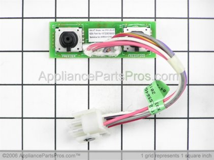 GE Board Assembly, Encoder WR55X10150 from AppliancePartsPros.com