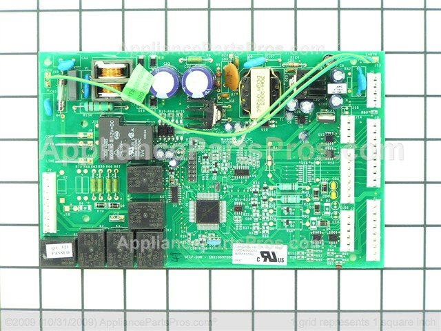 ge board with core wr55x10942p ap6048447_01_l ge wr55x10942p control board appliancepartspros com wr55x10942 wiring diagram at eliteediting.co