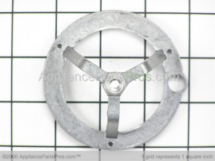GE Bracket-Burner Large WB02K10008 from AppliancePartsPros.com