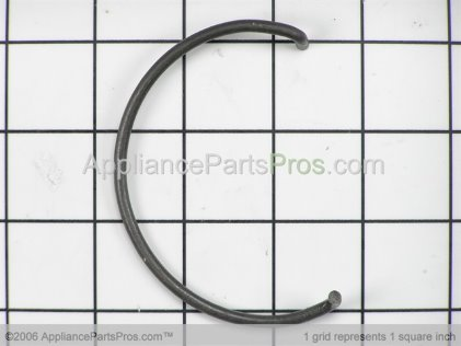 GE Broiler Door Spring, Right Side WB9K2 from AppliancePartsPros.com
