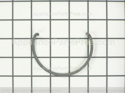 GE Broiler Door Spring, Left Side WB9K3 from AppliancePartsPros.com