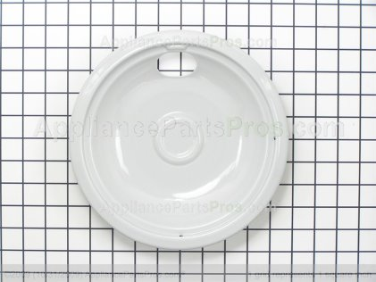 "GE Burner Bowl 8"" Lt Grey WB32X5102 from AppliancePartsPros.com"