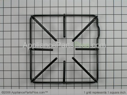 GE Burner Grate WB31K10016 from AppliancePartsPros.com