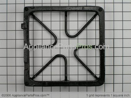GE Burner Grate WB31K10034 from AppliancePartsPros.com