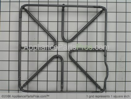 GE Burner Grate WB31K10035 from AppliancePartsPros.com
