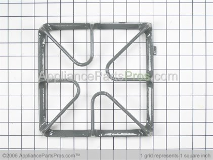 GE Burner Grate WB31K10045 from AppliancePartsPros.com
