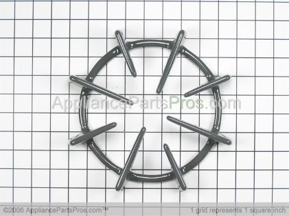 GE Burner Grate WB31T10004 from AppliancePartsPros.com