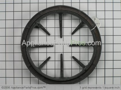 GE Burner Grate WB31T10007 from AppliancePartsPros.com