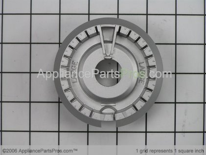 GE Burner-Lrg WB16K10007 from AppliancePartsPros.com