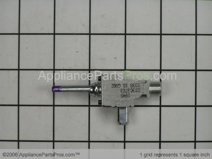GE Burner Valve WB21K20 from AppliancePartsPros.com