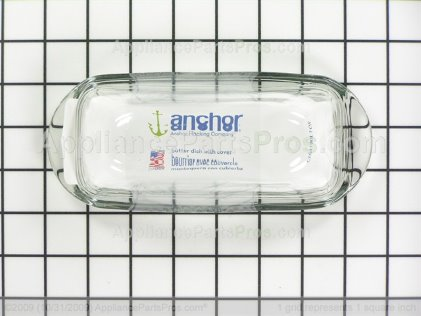GE Butter Dish and Cover WR19X10005 from AppliancePartsPros.com