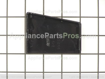 GE Cap End Lft (blk) WB07K10096 from AppliancePartsPros.com