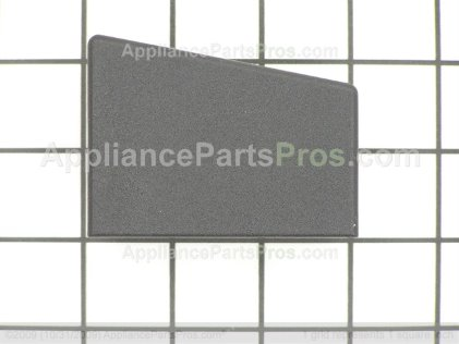 GE Cap End Rt (blk) WB07K10095 from AppliancePartsPros.com