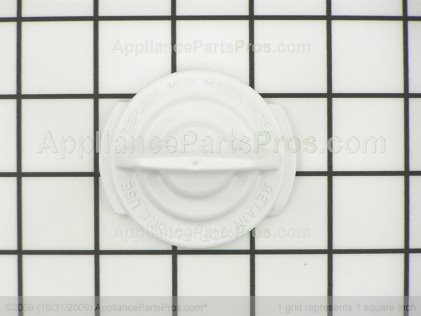 GE Filter Bypass Cap WR02X11705 from AppliancePartsPros.com