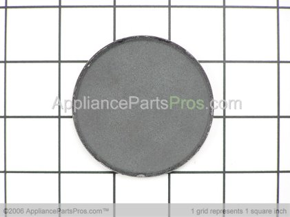 GE Cap Medalion LG (gray) WB29K14 from AppliancePartsPros.com