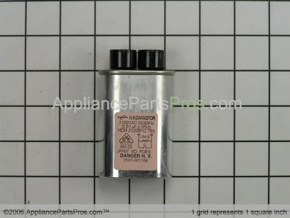 GE Capacitor High Voltage WB27X588 from AppliancePartsPros.com