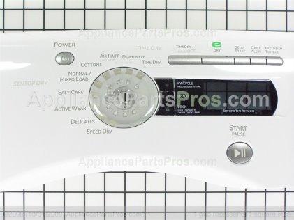 GE Cntrl Pnl Asm Ww WE19M1687 from AppliancePartsPros.com
