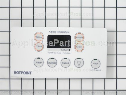 GE Combined Hmi Asm Wh WR55X10565 from AppliancePartsPros.com