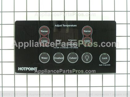 GE Combined Hmi Asm Bk WR55X10566 from AppliancePartsPros.com