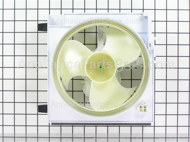 Ge Wr60x10177 Condenser Fan Asm