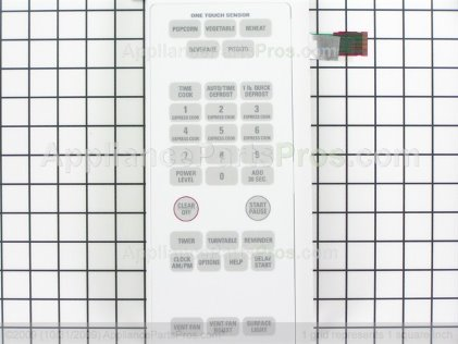 GE Control Panel Asm Wht WB07X10787 from AppliancePartsPros.com