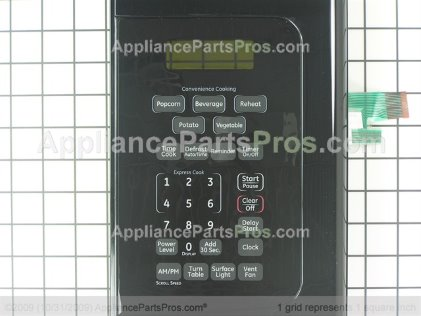 GE Control Panel Assembly WB56X10816 from AppliancePartsPros.com