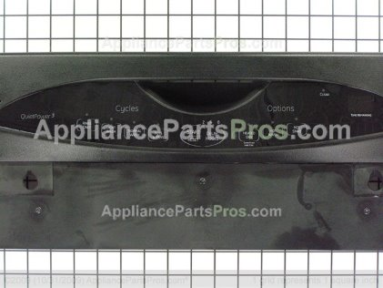 GE Control Panel Blk WD34X11192 from AppliancePartsPros.com