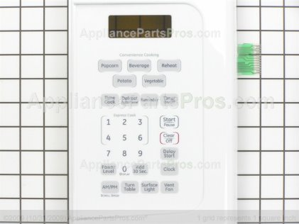 GE Control Panel WB07X11012 from AppliancePartsPros.com