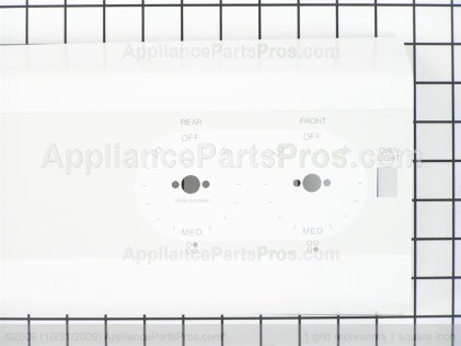 GE Control Panel WB36K5388 from AppliancePartsPros.com