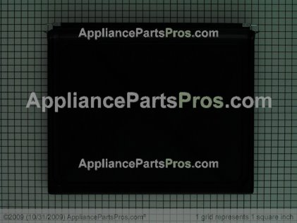 GE Cooktop and Glass Assembly, Black WB57K10058 from AppliancePartsPros.com