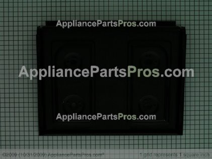 GE Cooktop (blk WB62K10051 from AppliancePartsPros.com