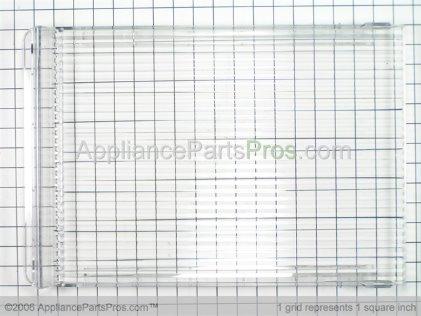 GE Cover, Crisper Drawer WR32X5206 from AppliancePartsPros.com
