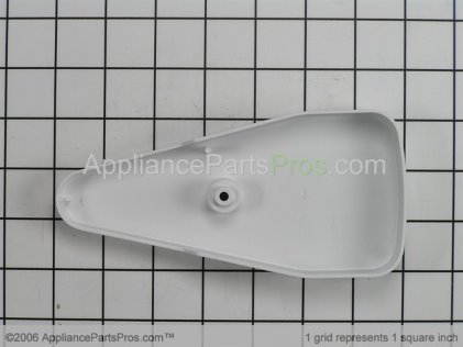 GE Hinge Cover WR02X11406 from AppliancePartsPros.com