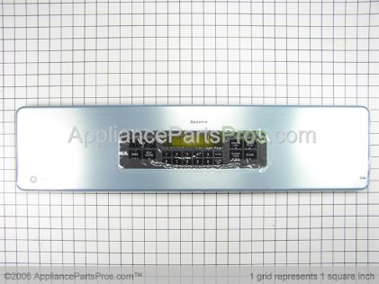 GE Crystal & Aluminum Panel WB57K10070 from AppliancePartsPros.com